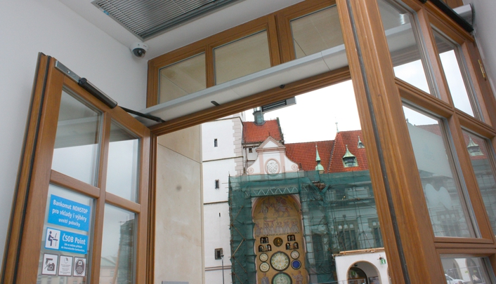 Automatické dveře otočné | SPEDOS