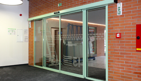 Automatické dveře posuvné | SPEDOS