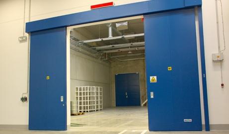Protipožární vrata posuvná | SPEDOS