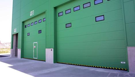 Průmyslová vrata sekční | SPEDOS