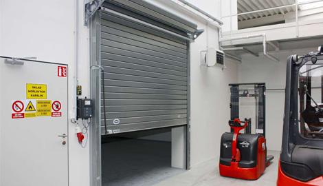 Průmyslová vrata rolovací | SPEDOS